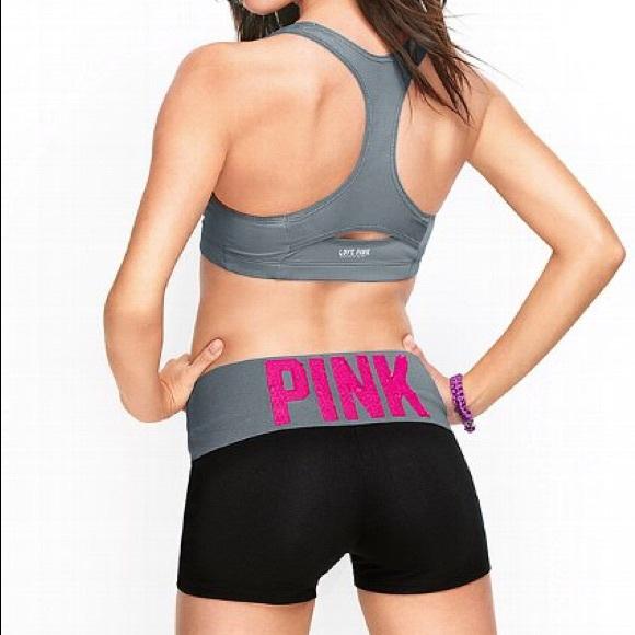 b32f528e61012 Victoria's Secret Pink Yoga Shorts Large. M_5ade1c2a9cc7ef47ca36f934